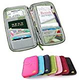 #2: House Hold Multicolor Passport Wallet