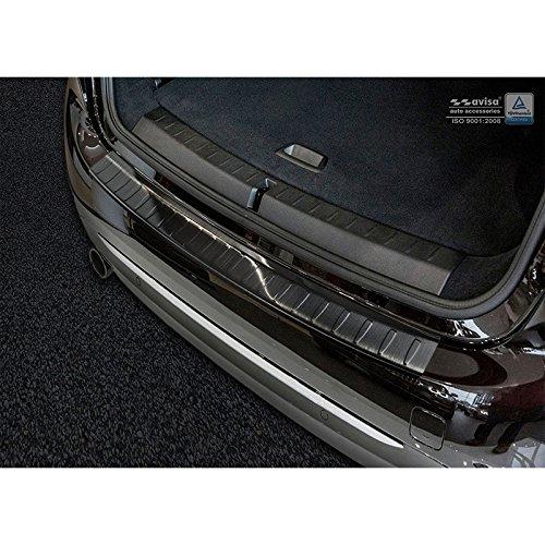 Borsa Stile 2/45105in Acciaio Inox paraurti Posteriore 2-Serie Gran Tourer F462015- 'Costole', Nero