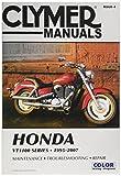 Clymer riparazione manuale per Honda VT1100vt-1100Serie 95–07