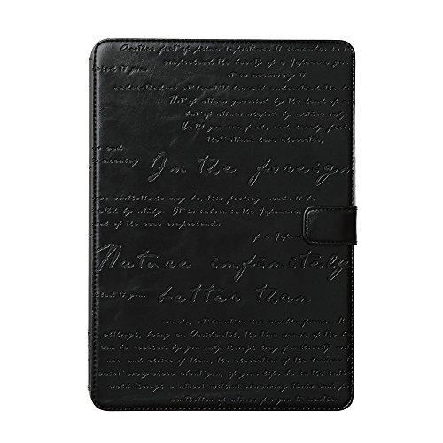 """Zenus Schutzhülle """"Lettering Diary"""" in schwarz für Apple iPad Air 2"""
