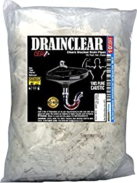 Cero Drainclear (Dry Powder) To Clear Clogged Drains, Sinks And Pipes (1Kg)