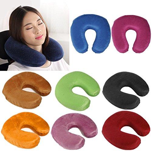 Calli Le cou d'oreiller de mousse de mémoire d'u-forme protège le voyage d'appui-tête le coussin doux