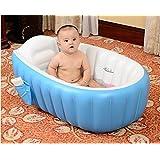 Cho Cho European Standard Inflatable Baby Bath Tub with Pump (Multicolor)