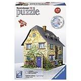 Ravensburger 12585 - Englisches Landhaus, 216 Teile 3D Puzzle-Bauwerke