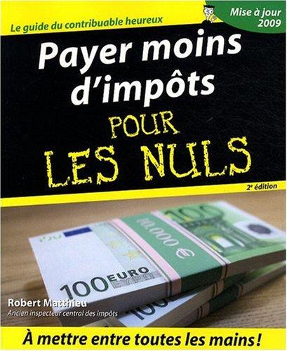PAYER MOINS IMPOTS 2ED PR NULS