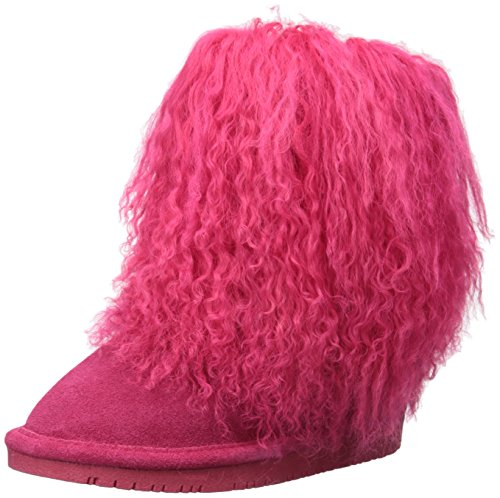 Bearpaw Mädchen Boo Toddler Schlupfstiefel Electric Pink 651, 27 EU
