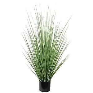 Ligne Déco 441203WO Plante Artificielle Herbe Graminée en Pot 110 cm