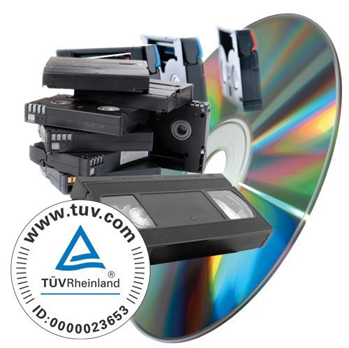 Videos (VHS, SVHS, Hi8, Video8, MiniDV uvm) digitalisieren auf DVD - 45 min Kassette