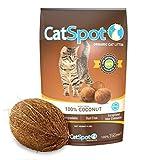 CatSpot Litter, 100% Coconut Cat Litter: All-Natural, Lightweight & Dust-Free. Non-Clumping (1 Bag)