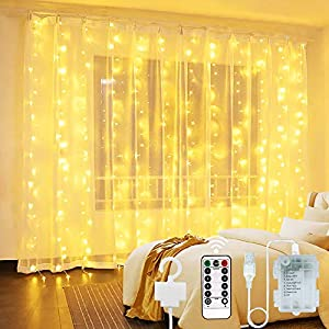 Vindany Cortina de Luces LED