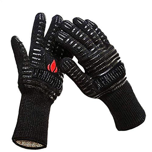 Handschuhe Grillhandschuhe Ofenhandschuhe Backhandschuhe Hitzebeständige bis zu Premium Kochhandschuhe für BBQ, Kochen, Backen und Schweißen Handschuhe