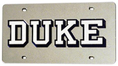 NCAA Découpe Laser automatique Tag, Duke Blue