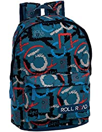 Roll Road Play Mochila Adaptable A Carro, 19.2 Litros, Multicolor