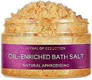 Ritual of Seduction Oil-enriched Bath salt with Natural aphrodisiac and Macadamia oil, 250 ml