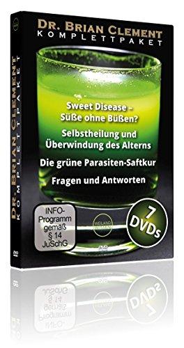Dr. Brian Clement DVD Komplettpaket 2016, DVD-Box, Intensiv Seminare mit der bewährten Hippocrates Health Institute Programm Lebenskraft tanken - Dr. Weizengras