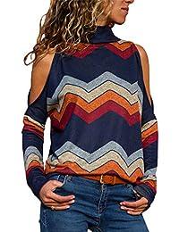 d35e6b0ec2ceb Suchergebnis auf Amazon.de für: Hemd Hoher Kragen - Tops, T-Shirts ...