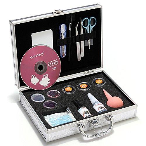 Bluelover Nouveau Pro Faux Cils Eye Cils Kit De Prolongation Set Case