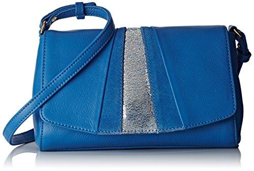 Petite MendigoteClafoutis - Borsa a tracolla Donna , blu (Bleu (Bleu (Jean))), 8x14x23 cm (W x H x L)