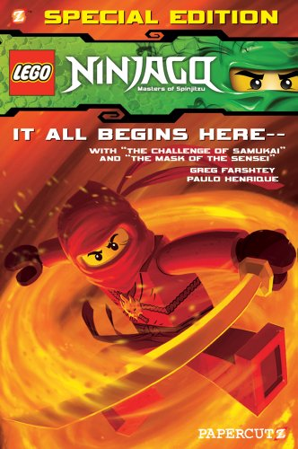 Ninjago: The Challenge of the Samukai/Mask of the Sensei Bind-up