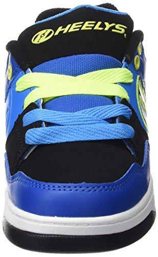 Heelys Flow 770608, Sneakers basses garçon Bleu (Royal / Black / Lime)
