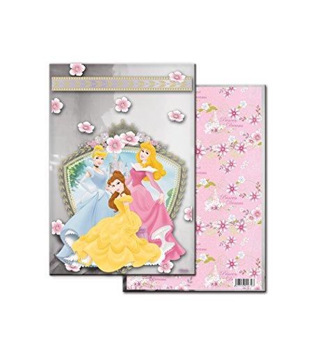 Disney Princess?metalizada rechteckig Tasche, 100Stück, 20x 30cm (verbetena 014200205 Preisvergleich