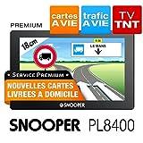 Snooper pl8400: LKW GPS 7 HD DVB-T TV-Karte und Lebenslang