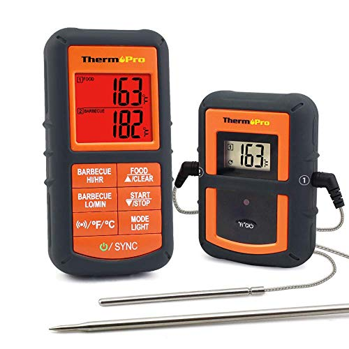ThermoPro TP08 Funk-Grillthermometer Set thumbnail
