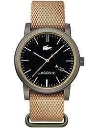Lacoste Herren-Armbanduhr METRO Analog Quarz Textil 2010838