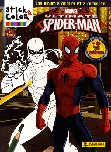 Stick & Color Ultimate Spiderman 2017
