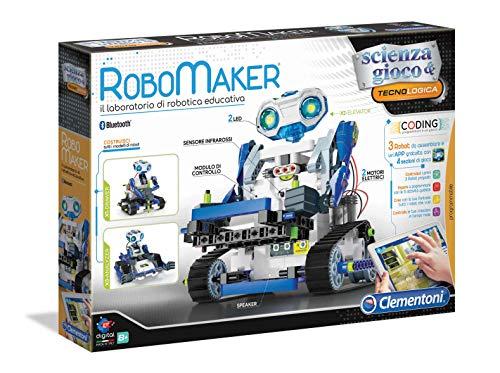 Clementoni-19132-Scienza e Gioco-RoboMaker Start, Robot per Bambini, Multicolore, 19132