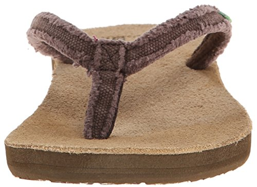 Sanuk Sanuk Slim Fraidy Sandals Women chocolate