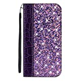 Case for ASUS ZenFone Max Plus M1 Glitter PU Leather