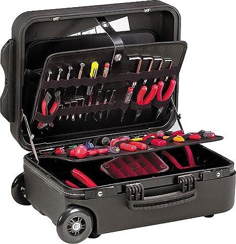 GT Line N.M. Wheelspel–Valise porte-outils (polyéthylène avec élastiques, intérieur de