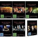 Wallander Collection 1 - 6 komplett im Set - Deutsche Originalware [12 DVDs]