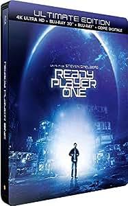 Ready Player One Steelbook 4k UHD+3D & 2D Limited Edition Steelbook Blu-ray Region free (import)