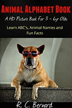 Ebooks Animal Alphabet Book - A HD Childrens Picture Book with Cool Animal Facts (Animal Book 1) Descargar PDF