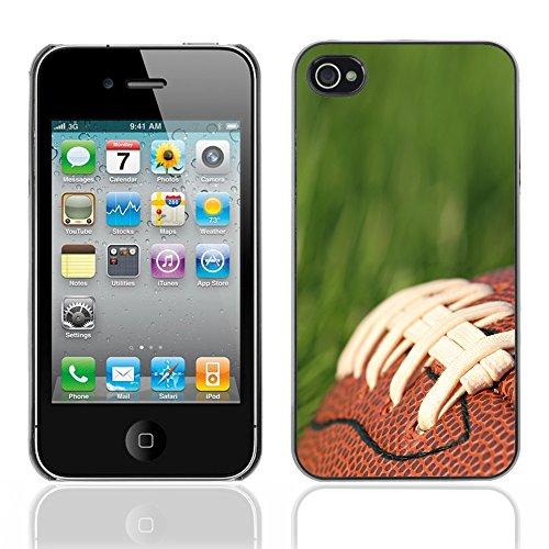 Graphic4You Amerikaner Fußball Football Sport Design Harte Hülle Case Tasche Schutzhülle für Apple iPhone 4 und 4S Design #2