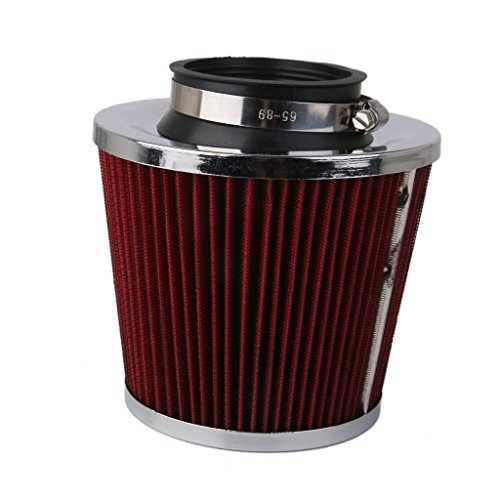 Generic 76mm High Flow Air Intake Cone Filter Cleaner Fuel Saver for CAR/TRUCK/SUV  available at amazon for Rs.980