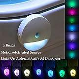 Wasserdicht WC Urinal Sensing Licht Badezimmer Induktive LED-Sensing Doppel Nacht Lampe