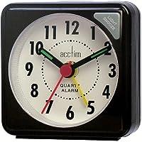 Acctim Black Ingot Travel Alarm With Light