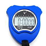 Leap TF307 Digital Sports Stopwatch Timer -Blue