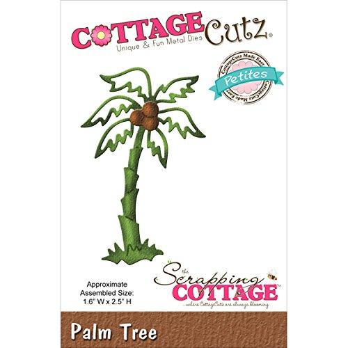 Cottage Cutz Metall Petites Sterben-Palm Tree 1.6-inch X 2,5