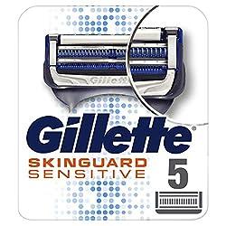 Gillette SkinGuard Sensitive Rasierklingen Für Männer, 5Stück