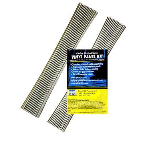 Klimaanlage Fenster Einheit Ersatz Vinyl Akkordeon Seite Panel-Kit -