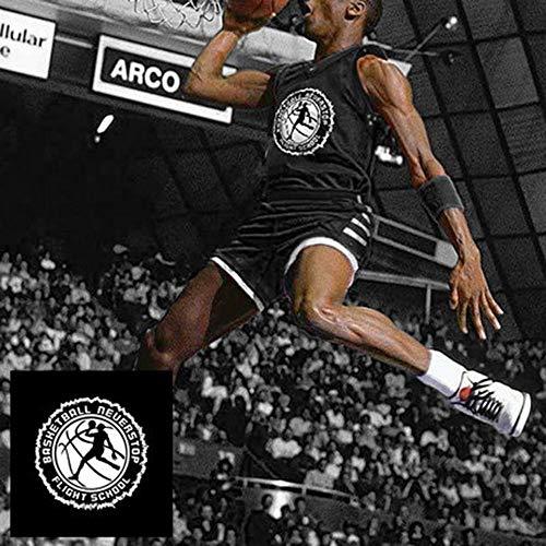 YANJJJ Persönlichkeit NBA Basketball Uniform Anzug Sporttraining Weste Jersey D-3XL(175-180cm) -