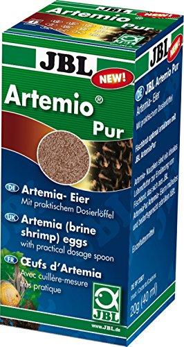 JBL ArtemioSal 30907 Eier zum Anmischen von Lebendfutter, Eier 40 ml (Schlüpfen Artemia)