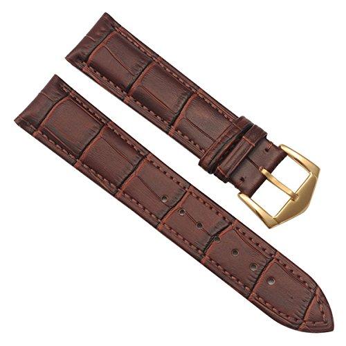 greenolive-in-bambu-22-mm-cinturino-in-pelle-marrone-stitch-oro-fibbia-colore-marrone