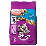 #6: Whiskas Adult Cat Food Pocket Ocean Fish, 1.2 kg Pack