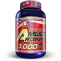 Muscle Force Multi Arginina 3000, Compuesto Alimentico - 100 Capsulas