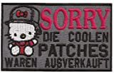 Hello Kitty, SORRY die Coolen Patches waren ausverkauft, Biker Aufnäher
